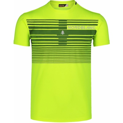 Pánské tričko Nordblanc Gradiant žluté NBSMF7459_BPZ
