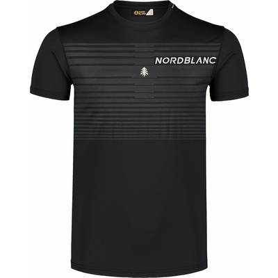 Pánské tričko Nordblanc Gradiant černé NBSMF7459_CRN