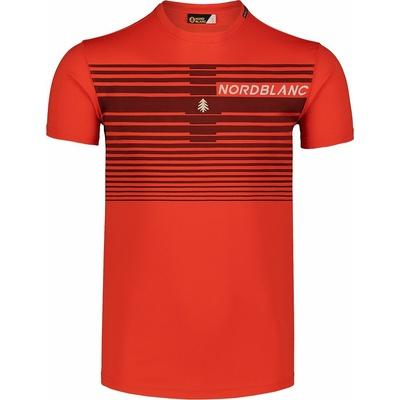 Pánské tričko Nordblanc Gradiant oranžové NBSMF7459_OIN