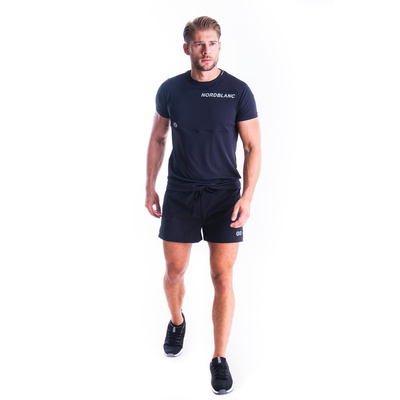 Pánské fitness tričko Nordblanc Grow černé NBSMF7460_CRN, Nordblanc