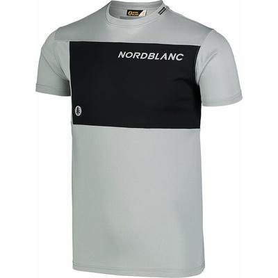 Pánské fitness tričko Nordblanc Grow šedé NBSMF7460_SSM, Nordblanc
