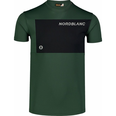 Pánské fitness tričko Nordblanc Grow černé NBSMF7460_TZE, Nordblanc