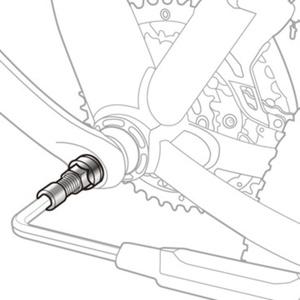 Stahovák klik Topeak Universal Crank Puller TPS-SP19, Topeak