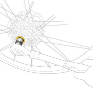 Klíč Topeak Freewheel Remover TPS-SP39, Topeak