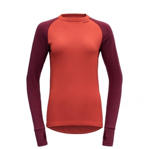 Dámské triko Devold Expedition Woman Shirt Beetroot GO 155 226 B 740A