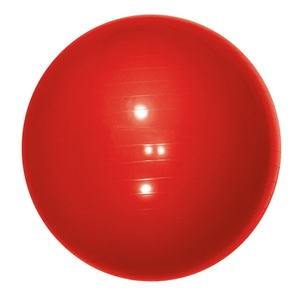 Gymnastický míč Yate Gymball - 65 cm červený