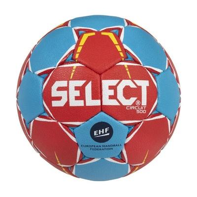 Míč na házenou Select HB Circuit červeno-modrá, Select