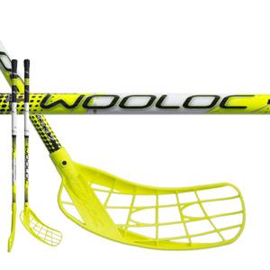 Florbalová hůl WOOLOC FORCE 3.2 yellow 65 ROUND NB, Wooloc