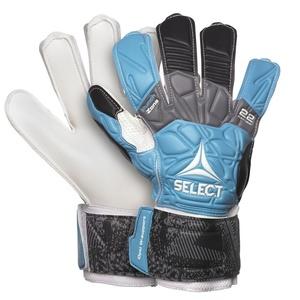 Brankářské rukavice Select GK gloves 22 Flexi Grip Flat cut modro černá, Select