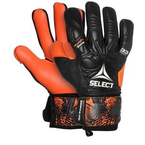 Brankářské rukavice Select GK gloves 33 Allround Negative Cut černo oranžová, Select