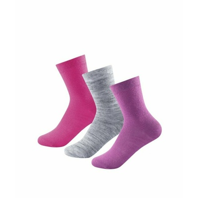 Ponožky Devold DAILY LIGHT KID SOCK 3 pack SC 592 023 A 181A