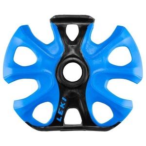 Talířek LEKI Big Mountain Binding Basket 2K 95 mm wtih hook black-blue 853500105