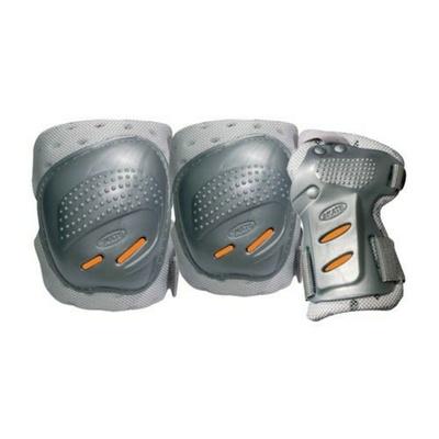 Chrániče Tempish Cool Max 3 silver/orange