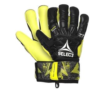 Brankářské rukavice Select GK gloves 77 Super Grip Hyla cut černo žlutá, Select