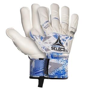Brankářské rukavice Select GK gloves 88 Pro Grip Negative cut bílo modrá