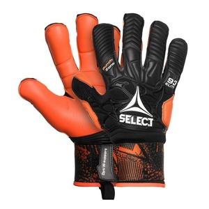 Brankářské rukavice Select GK gloves 93 Elite Hyla cut černo oranžová, Select