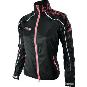 Dámská běžecká bunda Silvini PIOTA WJ707 black-punch, Silvini