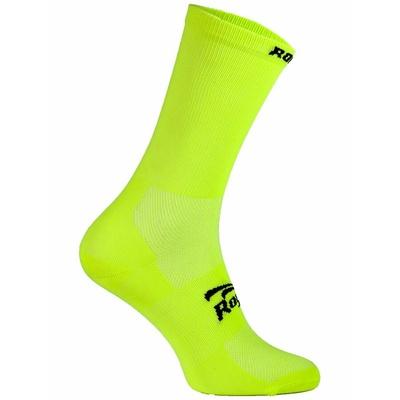Ponožky Rogelli Q-SKIN, reflexní žluté 007.130