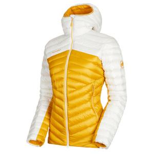 Dámská bunda Mammut Broad Peak IN Hooded Jacket Women golden bright white 1247, Mammut