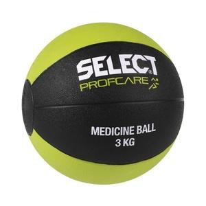 Těžký míč Select Medicine ball 3kg černo zelená, Select