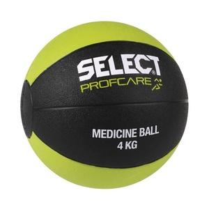 Těžký míč Select Medicine ball 4kg černo zelená, Select