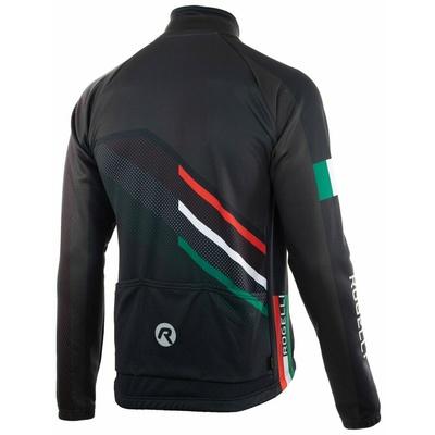 Membránová cyklistická bunda Rogelli TEAM 2.0, černá 003.961, Rogelli