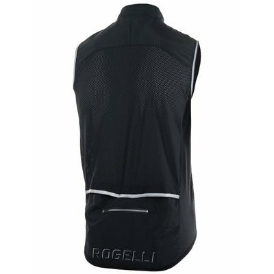 Cyklistická vesta Rogelli MOVE s prodyšnými zády, černá 004.201, Rogelli
