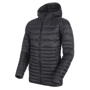 Pánská bunda Mammut Convey IN Hooded Jacket Men black phantom 00189, Mammut