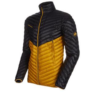 Pánská bunda Mammut Broad Peak Light IN Jacket Men black golden 00328 (1013-00420), Mammut