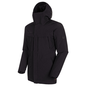 Pánská bunda Mammut Chamuera HS Thermo Hooded Parka Men black 0001, Mammut