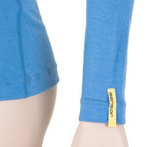 Dámské triko Sensor Merino Wool Active modrá 12110026