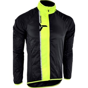 Pánská ultra light bunda Silvini GELA MJ801 black-neon