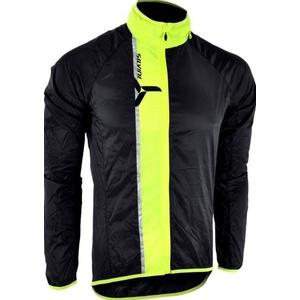 Pánská ultra light bunda Silvini GELA MJ801 black-neon, Silvini