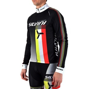 Pánský zateplený dres Silvini TEAM MD833 black