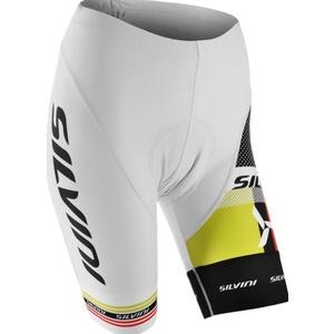 Dámské cyklistické kalhoty pás Silvini TEAM WP840 white