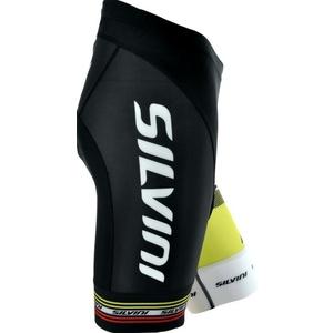 Dámské cyklistické kalhoty pás Silvini TEAM WP840 black