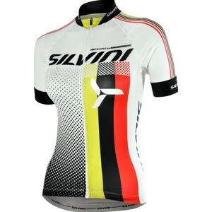 Dámský cyklistický dres Silvini TEAM WD837 white