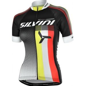Dámský cyklistický dres Silvini TEAM WD837 black