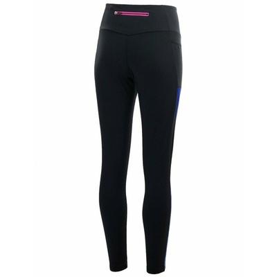 Dámské běžecké kalhoty Rogelli COSMIC se zateplením, černo-modro-růžová 840.766, Rogelli