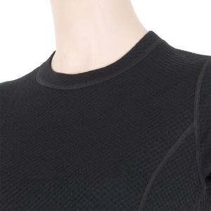 Dámské triko Sensor MERINO DOUBLE FACE černé 15100017, Sensor