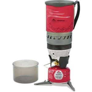Vařič MSR WindBurner 1,0 l Stove System Red 09219, MSR