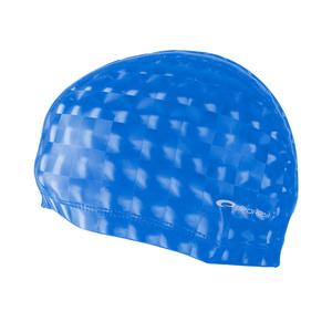 Plavecká čepice Spokey TORPEDO 3D  modrá, Spokey