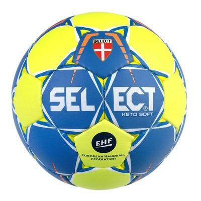 Házenkářský míč Select HB Keto soft žluto modrá, Select