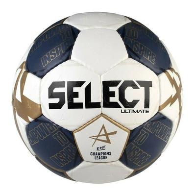 Míč na házenou Select HB Ultimate CL bílo-modrá, Select