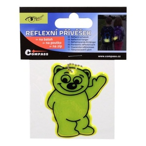 Přívěšek reflexní BEAR S.O.R., Safety on Road