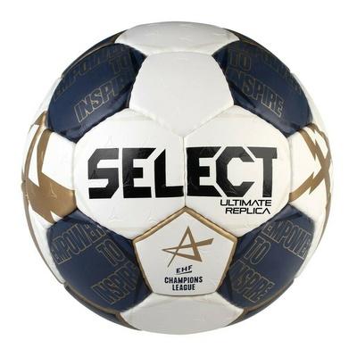 Míč na házenou Select HB Ultimate Replica CL bílo-modrá, Select