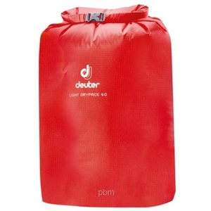 Vodotěsný vak Deuter Light Drypack 40 fire (39292), Deuter