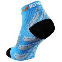 Ponožky ROYAL BAY® Neon Low-Cut Blue 5099