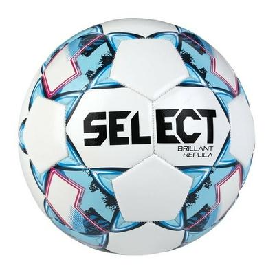 Fotbalový míč Select FB Brillant Replica bílo modrá, Select