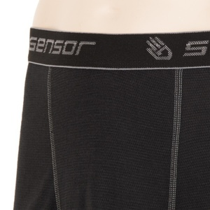 Pánské boxerky Sensor Double Face černé 16200050, Sensor